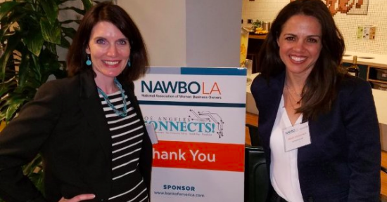 Workwise Law speaking about employment law at NAWBO National Association for Womens Business Owners conference