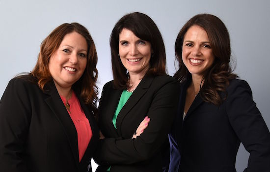 image of employment law attorneys Renee Noy, Alexis James and Laura Withrow